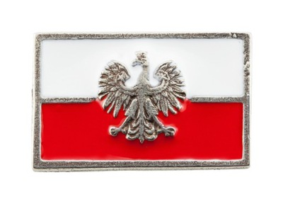 Флаг  - Орел IIIRP - pin wpinka застежка
