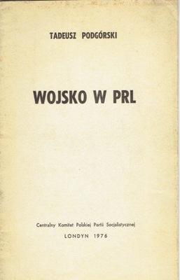 ПОДГОРНЫЙ ВОЙСКА в ПНР / Лондон CK PPS 1976