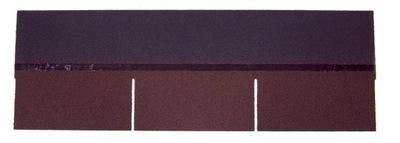 Šindle, asfaltové obdĺžnik hnedé 3M2 Guttatec