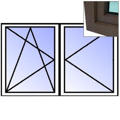 Окно-окна  ???  2 - ??????????   ???  RU/R 1165x1135mm