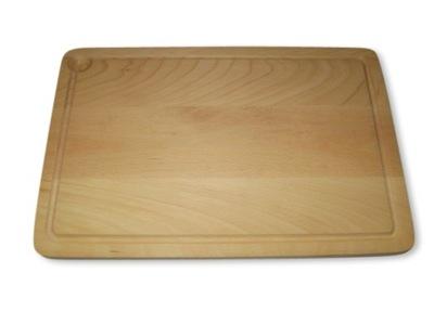 Drewniana deska do krojenia 46x30x2 + PROMOCJA!!