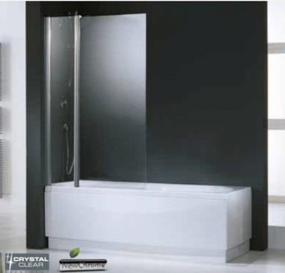 Sprchové dvere - NOVELLINI AURORA 3 vaňová obrazovka, strieborná98x150