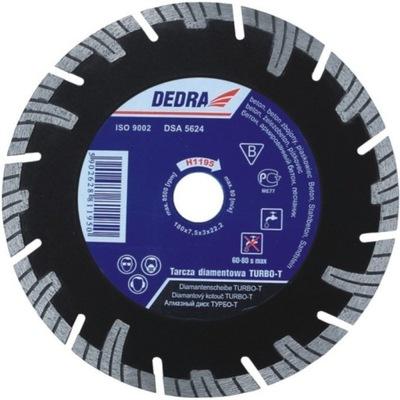 Rezací kotúč - DEDRA DIAMOND BLADE TURBO-T 125mm H1193