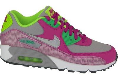 Nike Air Max 345017 014 fioletowe czarne 37 ,5 4111890754