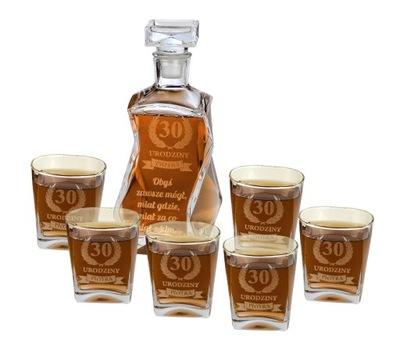 комплект виски Графин ? гравировкой 6 стаканов гравер