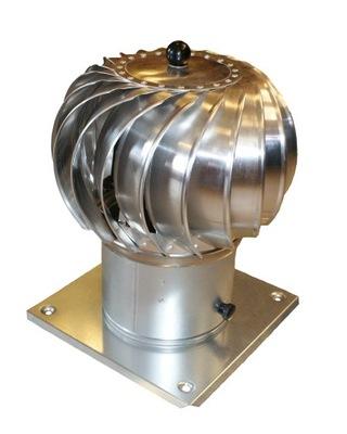 Komínová strieška, hlavica - Komínová nádrž KULISTA 250 mm rotačný komín