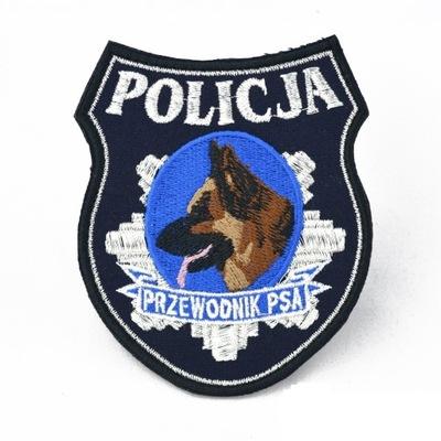 NASZYWKA PRZEWODNIK PSA POLICJA NA RZEP