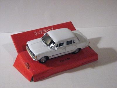 ПНР FSO БОЛЬШОЙ Fiat Fiat 125p Белый 1 :34