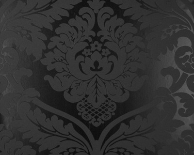 черная ОБОИ Стены гламур орнамент