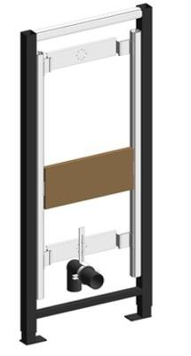 Montážny rám pre závesné WC - Pisoár VALSIR WINNER-S pre pisoár H-114