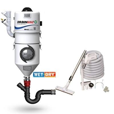 Пылесосы центральные DRAINVAC DF1A150 водный автома