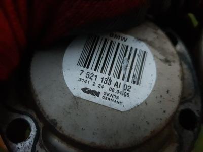 BMW 5 E60 6 E63 7 E65 ПОЛУОСЬ ПРАВАЯ ЛЕВЫЙ ЗАД 7521133