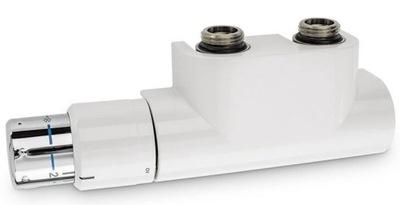 Ventil pre radiátor multiblok biela 50 mm Oventrop