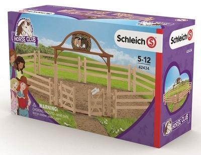 SCHLEICH Horse Club 42434 Wybieg dla koni z bramą