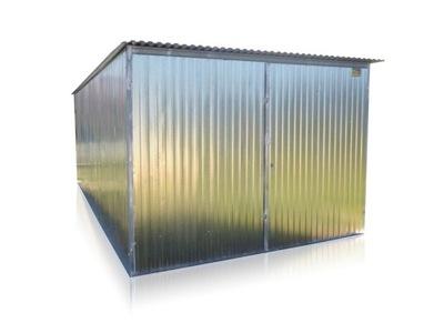 Blaszak garáž kovové garáž 3x6 pozinkované s4