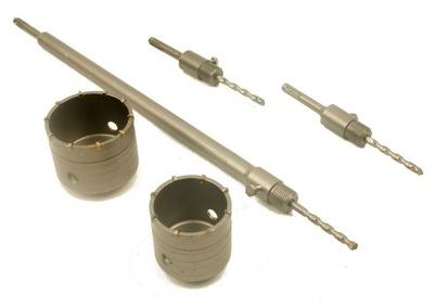 WIERTŁO KORONOWE FREZ SDS 65 mm + 80 mm PRZEDŁUŻKA