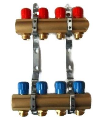 Podlahové vykurovanie - 12-obvodový rozdeľovač pre radiátory a podlahové vykurovanie