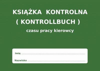 LIBRO CZASU DE FUNCIONAMIENTO VOLANTE KONTROLLBUCH - 30 PIEZAS