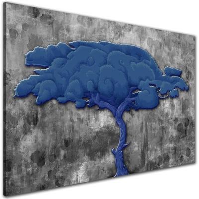 современный Изображение Дерево синие ??????????