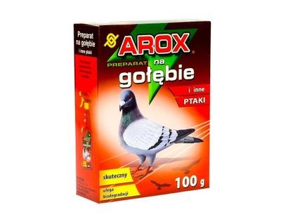 гранулы сдерживающим фактором НА ГОЛУБЕЙ ПТИЦЫ AROX 100г