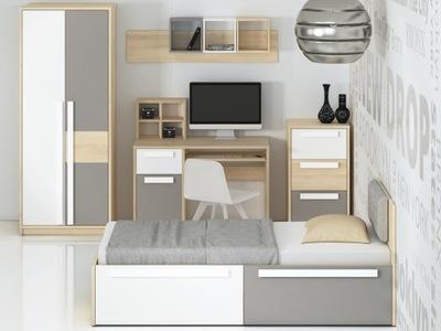 мебель Drop 01 современный комплект шкаф кровать рабочий стол