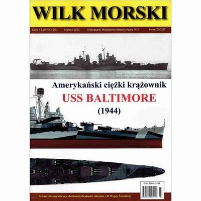 Волк морской 3 - Тяжелый крейсер USS Baltimore