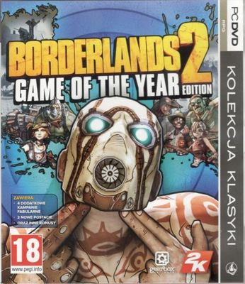 Borderlands 2 Game of the Year Edition BOX