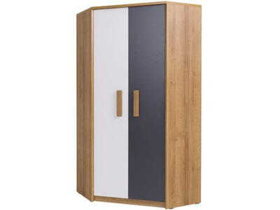 шкаф Угловой большая вместительная молодежная QUATRO 8