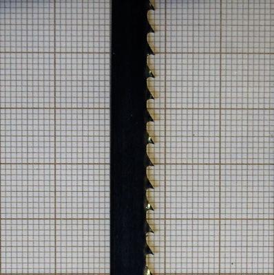 Plátno kapela pílového kotúča 8x0,65 6z/palec tvrdeného