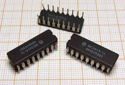 Układ scalony MC3419-1L MOTOROLA [M3] x3szt