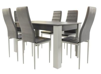 современный стол со стульями
