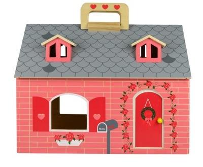 Drevený Skladací domček pre bábiky Internete