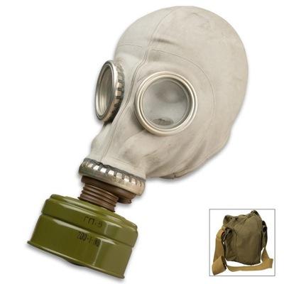 MASKA GAZOWA GP-5 - MASKA PRZECIWGAZOWA ZSRR torba