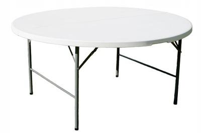 SKLADACÍ STÔL, OKRÚHLE, s priemerom 122 cm cateringowy tabuľka