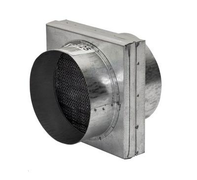 Filter plochou 125 mm pre rúry - DGP