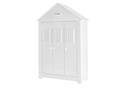 Марсель, Pinio ??? шкаф 3 двери белая вместительная