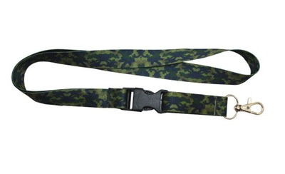 Поводок Military - камуфляж темная ш. 20мм дл. 52см