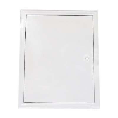 Revízne dvierka - prístupové Dvere kovové 40x50 cm zámok/rukoväť
