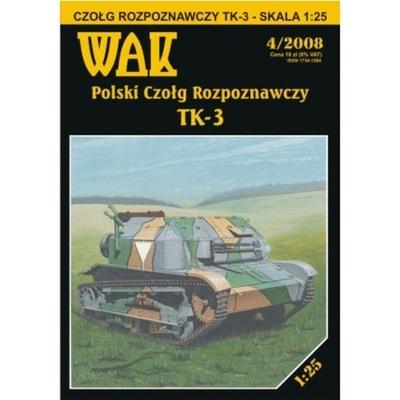 ОАК 4 /08 -  танк-разведчик TK-3 1 :25