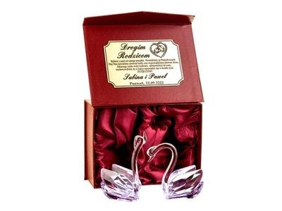 DARČEK CRYSTAL darčeková svadobné svadobné VÝROČIE 30 40 50