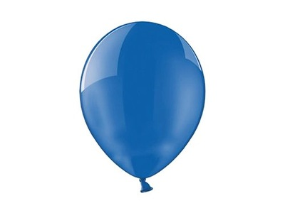 Balony KRYSTALICZNE CRYSTAL Niebieskie 25 szt.