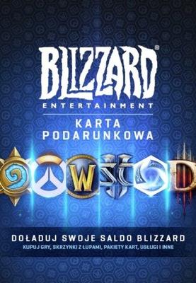 Karta podarunkowa Blizzarda 20€ doładowanie