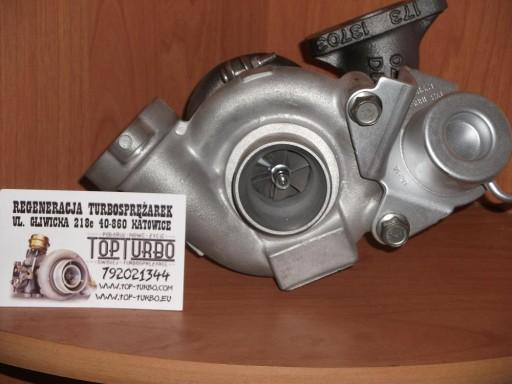турбокомпрессор турбина citroen jumpy 1.6 hdi 90 km, фото