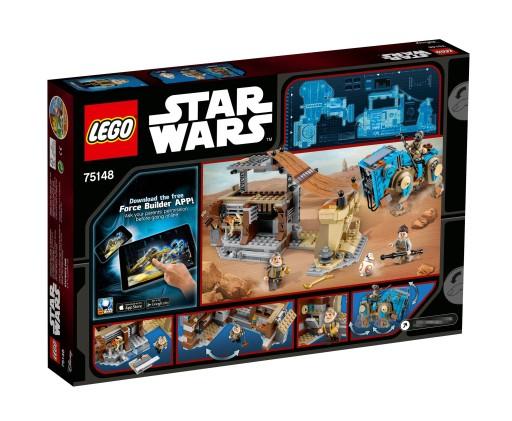 LEGO Star Wars Spotkanie na Jakku 75148 + 75119