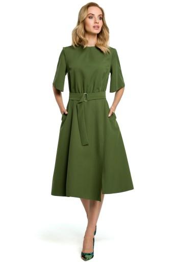 9bf3fe513c M396 Sukienka - zielona 44
