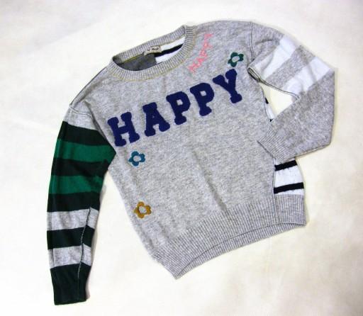 NEXT_mięciutki sweterek 128 cm_HAPPY :) ZAPRASZAM