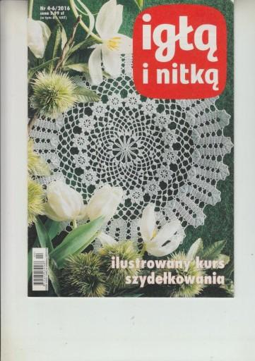 Ilustrow. kurs szydełkow.-  Igłą i Nitką 4-6/2016