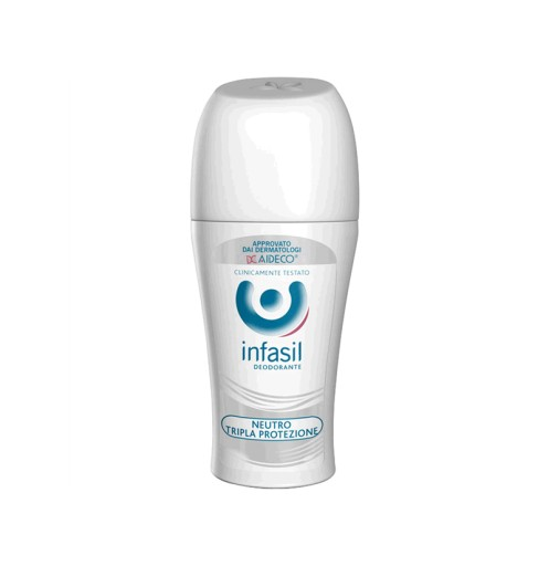 Infasil dezodorant sztyfcie potrójna ochrona 50ml
