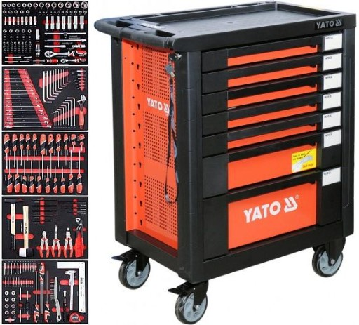 Szafka narzędziowa YATO 212 narzędzi ! YT-55290 FV