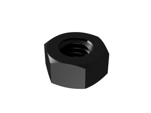 Nakrętki Nakrętka M3 czarna 10szt. komplet oksyda